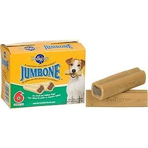 Pedigree Small-Medium Jumbone Dog Chew, Pack of 6