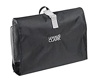 Lewis N. Clark  Hanging Toiletry Kit,Black,One Size