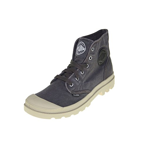 Palladium Pampa Hi, Stivaletti alla caviglia, imbottitura leggera uomo, Colore Marrone (Asphalt/Putty), Taglia 46 EU (11 UK)