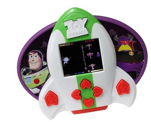 Buzz Lightyear Zurg Attacks LCD Handheld Game
