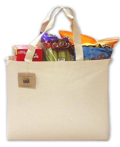 ECOBAGS® - Recycled Cotton Tote, Natural - 1