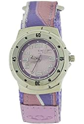 Terrain Lilac Girls Sports Velcro Strap Watch TV-1415L