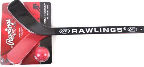 Rawlings Mini Hockey Stick Set - 1