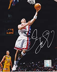 Jason Kidd Autographed Hand Signed New Jersey - Nets 8x10 Photo by Real+Deal+Memorabilia