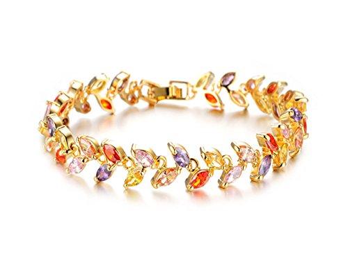 mr-rabbit-fashion-jewely-diamante-18k-planted-lucky-braceletsleaves-heart-swan-sun-coin