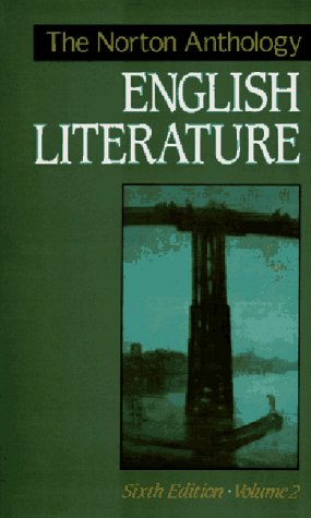 Image for The Norton Anthology of English Literature, Vol. 2