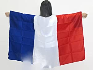 Buy World Cup 2014 France FlagMade to Wear 3ft×5ft, Unisex. Vibrant Colors. Special... by Tuberband