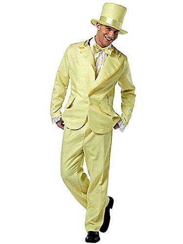 Mens Funky Yellow Tuxedo Adult Costume STD (Funky Tuxedo Adult Men Costume)