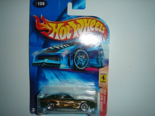 Hot Wheels Ferrari Heat Series #3 Ferrari 456M 5-Spoke No HW Logo #2004-130 Green - 1