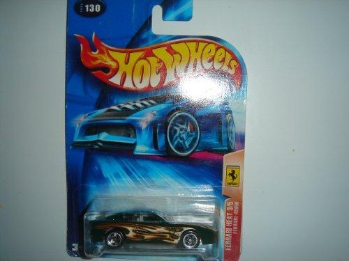 Hot Wheels Ferrari Heat Series #3 Ferrari 456M 5-Spoke No HW Logo #2004-130 Green - 1