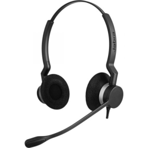 Gn Netcom Biz 2300 Duo Nc Stereo - Quick Disconnect - Wired - Over-The-Head - Binaural - Supra-Aural - Noise Cancelling Microphone / 2309-820-105 /