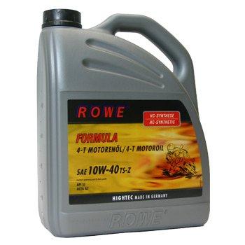 ROWE Formula 10W-40 TS-Z 4-Takt Motorrad/ Roller/