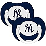 MLB New York Yankees Pacifiers, 2-Pack