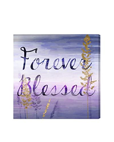 Oliver Gal Artist Co. Forever Blessed Lilac, Multi, 20 x 20