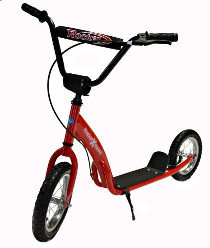 Rocket Xtreme Retro Bmx Scooter (Red)