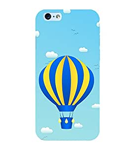 Hot Air Balloon 3D Hard Polycarbonate Designer Back Case Cover for Apple iPhone 6S