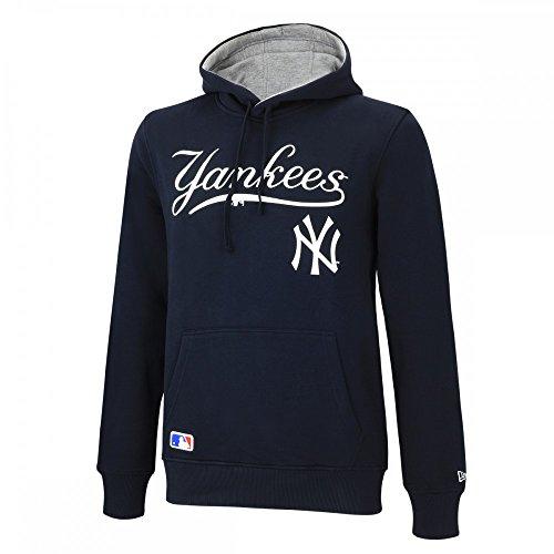 New Era Ne92236Fa16 Mlb Po Neyyan - Felpa-Linea New York Yankees da uomo, colore Blu, taglia M