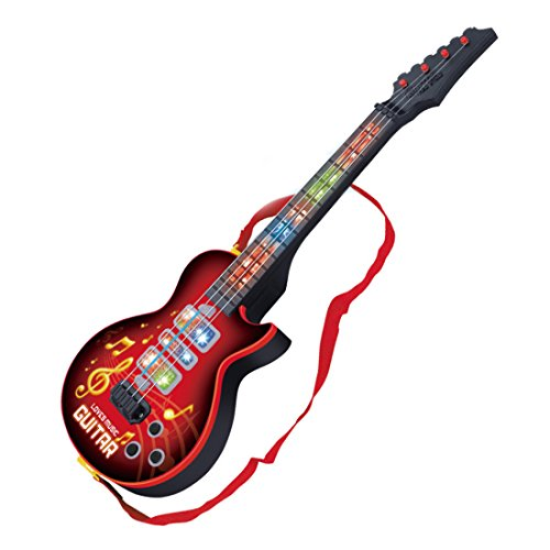 finer-shop-4-strings-music-electric-guitar-musical-instrument-educational-development-toy-red