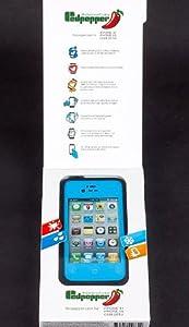 Iphone 4/4s Summer New Product Waterproof Lifeproof Dirtproof Shockproof Case for Iphone 4/4s (Sky Blue)