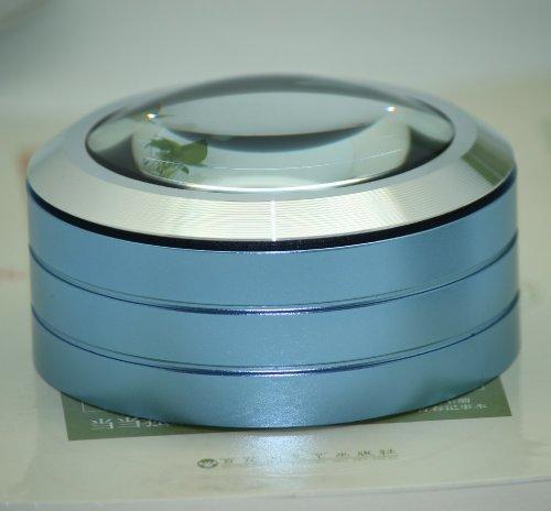 Visee Led Lighted Desktop Magnifier (Blue)
