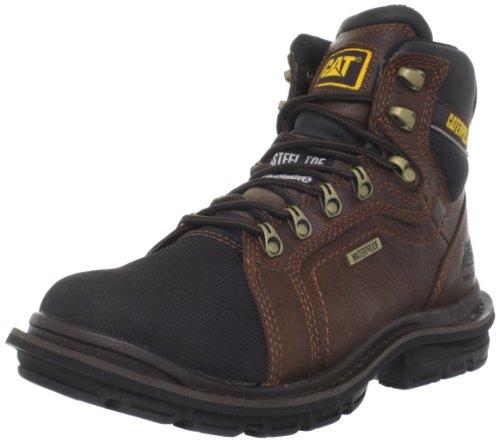 Caterpillar Men's Manifold WP CSA Work Boot,Oak,14 M US