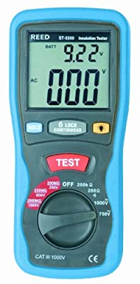 Reed Insulation Tester and Multimeter