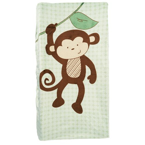 Babies R Us Monkey Changing Pad Cover - 1