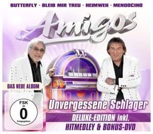 Unvergessene Schlager - Deluxe Edition (inkl. Hitmedley & Bonus-DVD)
