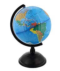 Spinning World Globe with Stand- Desk…