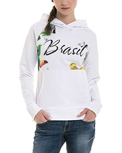 BIG STAR Sudadera con Capucha Brasilino_Hood_Sweat Blanco