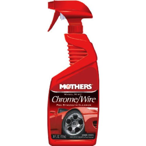 Mothers 05824 Pro-Strength Chrome Wheel Cleaner - 24 oz. (Chrome Cleaner Polish compare prices)