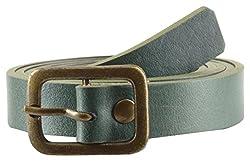 Garvan Women's Green Casual Leather Belt (LBW 12-Green-B)