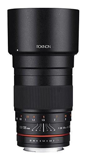 Rokinon 135mm F2.0 ED UMC Telephoto Lens for Canon Digital SLR Cameras