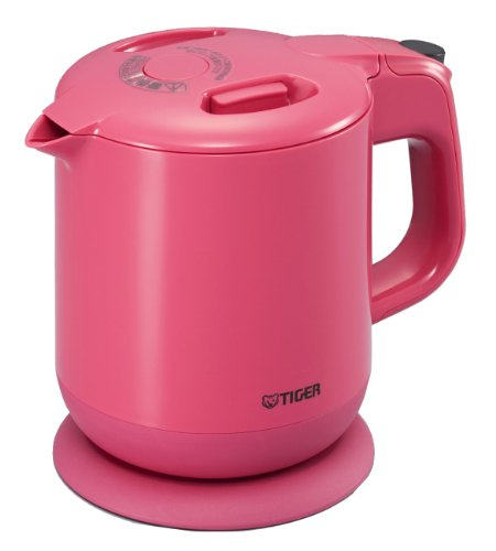 Tiger Electric Kettle Sweet Pink Pcg-A060-Ps (0.6 L)