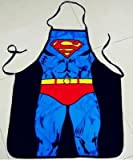 ネタT セクシー コスプレ Tシャツ 3D おもしろ プリント パパの料理 上手! 男女兼用 (エプロン スーパーマン)