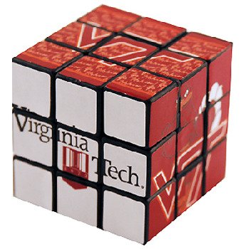 NCAA Virginia Tech Hokies Toy Puzzle Cube - 1