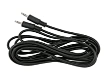 Parts Express 12-Feet 3.5mm Stereo Male to Male Cable