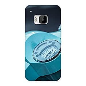 Scooter Meter Multicolor Back Case Cover for HTC One M9