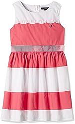 Nautica Kids Girls' Dress (NDG0128Q845_Melon_07)