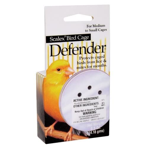 Amazon.com : Bird Cage Defender Mite/Lice Repellent : Pet Health Care
