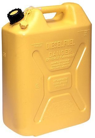Scepter 5 Gallon Polyethylene Diesel Can (Carb Compliant All 50 States)