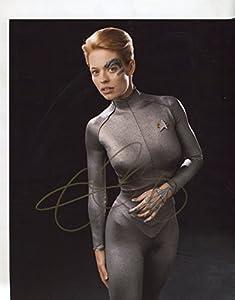 "* JERI RYAN * very sexy ""Star Trek"" signed 8x10 photo / UACC Registered Dealer # 212"