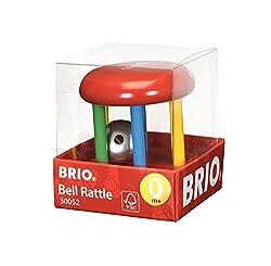 Brio Multicoloured Bell Rattle