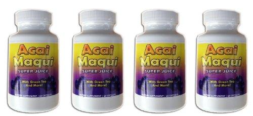 Eden étang Acai Maqui Weight Loss Pills, 4 comte