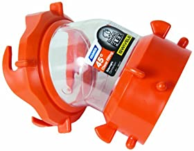 Camco 39847 RhinoFLEX Clear 45 Degree Sewer Hose Swivel Fitting