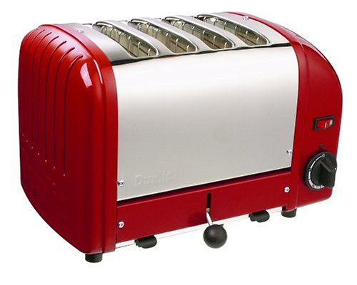 Dualit 4 Slice Toaster Red 40353