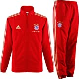 adidas kinder fc bayern trainingsanzug fcb pre suit rot. Black Bedroom Furniture Sets. Home Design Ideas