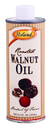 Roland Roasted Walnut Oil, 8.5-Ounce Canisters (Pack of 3)