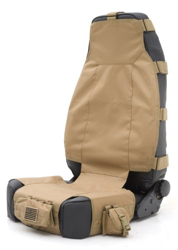 Smittybilt 5661024 GEAR Tan Front Seat Cover (Gear Tactical Seat Covers compare prices)