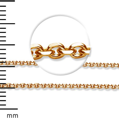 LIOR - 18ct Yellow Gold Chain - 67cm long
